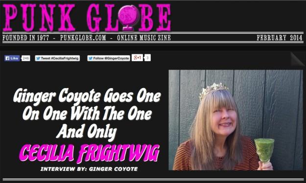 Punk Globe Interviews Cecilia